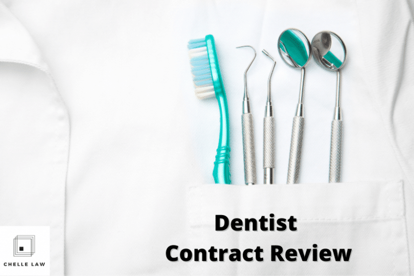 Dentist Contract Review