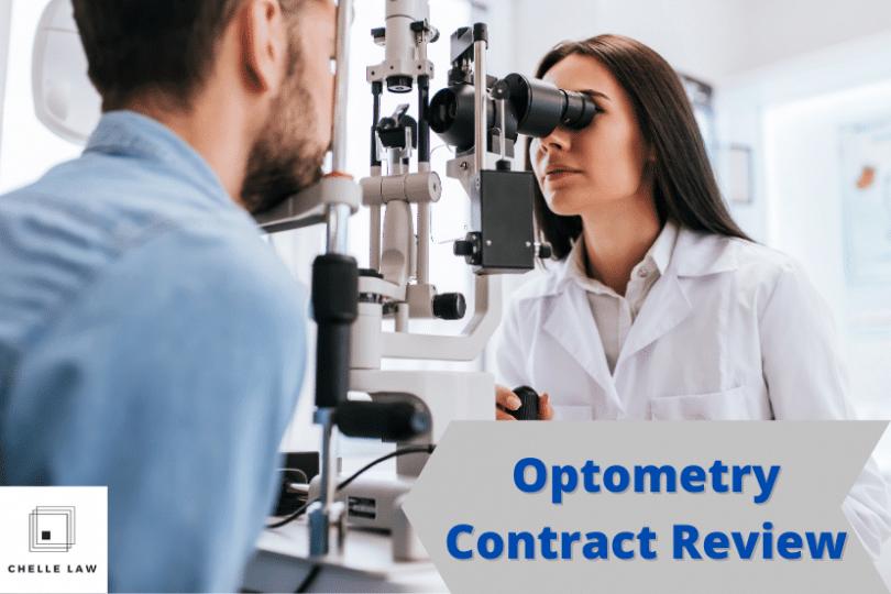 Optometry Contract Lawyer