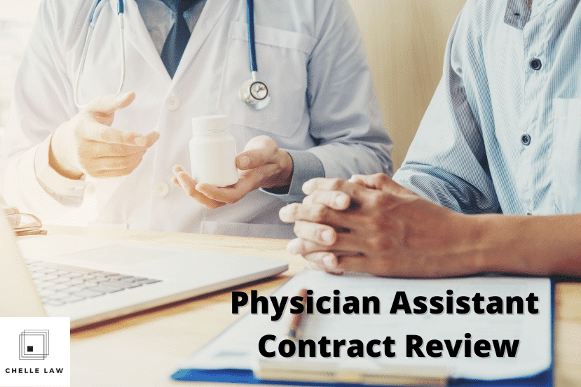 Physician Assistant Contract Attorney
