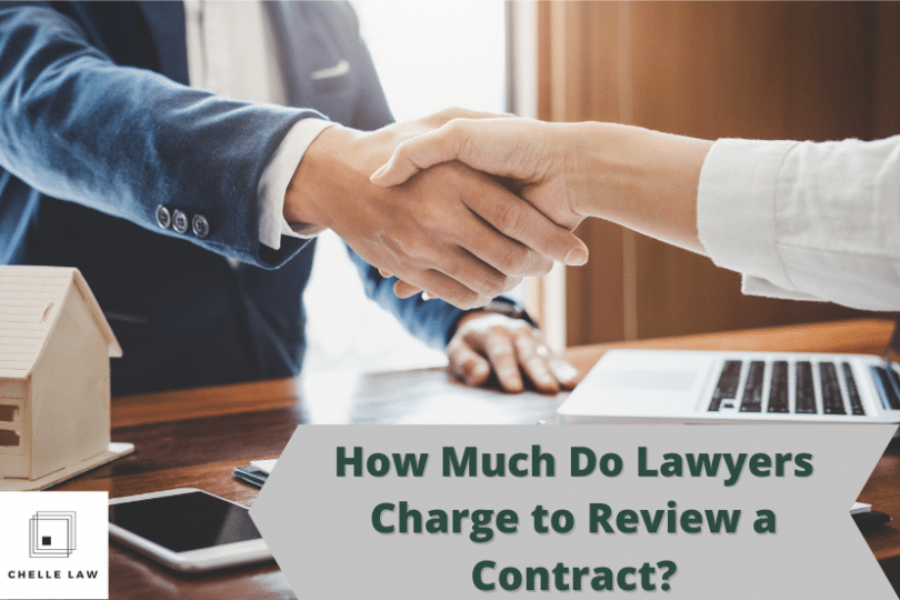 How Much Do Lawyers Charge to Review a Contract