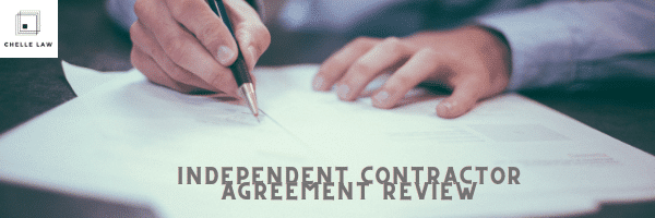 Independent Contractor Agreement Review